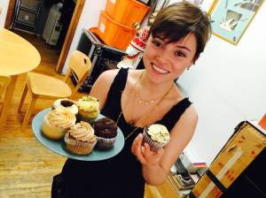 Daniela Rivera w cupcakes